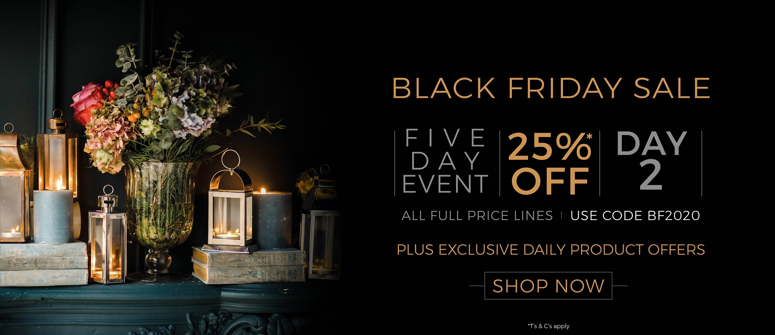 Black Friday Daily Offers