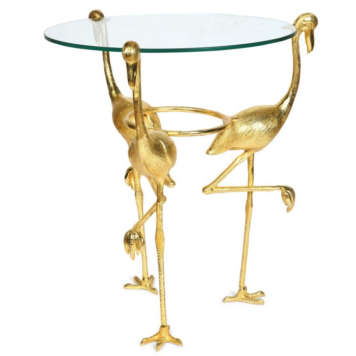 Stupendous Flamingo Glass Top Side Table Uwap Interior Chair Design Uwaporg