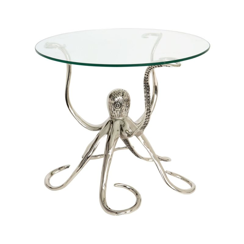 Octopus Glass Side Table Culinary Concepts