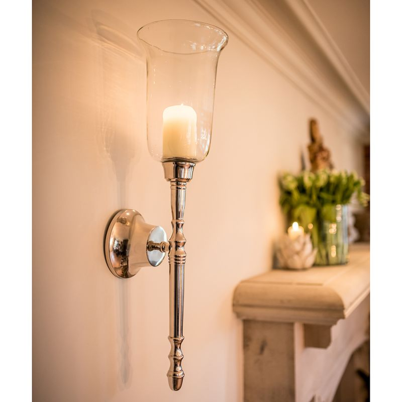 Pair Of Classic Candle Wall Sconces Culinary Concepts