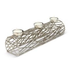 Forest Log 3 Tealight Holder