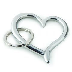 Amore Heart Key Ring - Unboxed