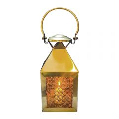 Antique Brass Extra Small Mustique Lantern