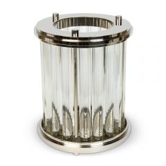 Art Deco Ribbed Lamp