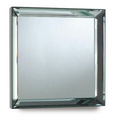 Large Square Bevelled Edge Mirror