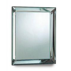 Large Rectangular Bevelled Edge Mirror