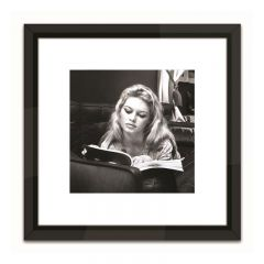 Brigitte Bardot 'Reading' Framed Art Print