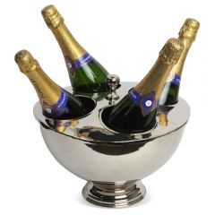 Small Ascot Four Bottle Champagne Cooler