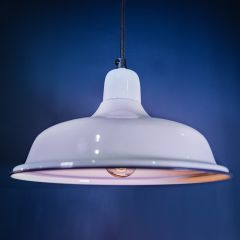 Small Aldgate Hanging Light - Off White