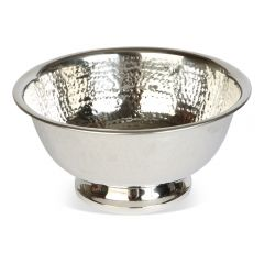 Medium Champagne Hammered Bowl