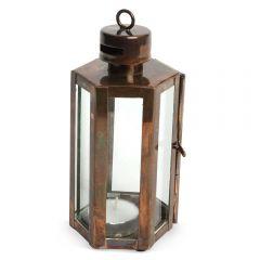 Mini Quarry Lantern - Burnished Copper
