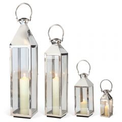 Large, Medium, Small & Extra Small Chelsea Lantern Set