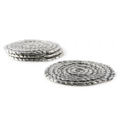 Rope Coaster Four Piece Set