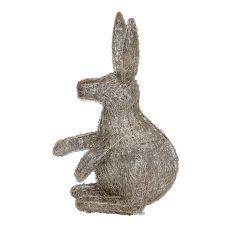 Small Silver LED Rabbit