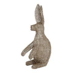 Large Silver LED Rabbit