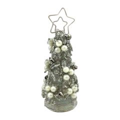 Mini Beaded Christmas Tree Hanging Decoration
