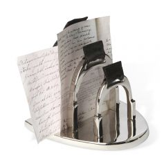 Stirrup Letter Holder
