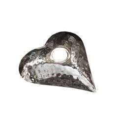 Small Heart Shaped Tea Light Holder