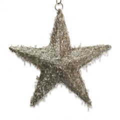 NEW! Large LED Beaded Hanging Star