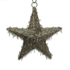 NEW! Small LED Beaded Hanging Star