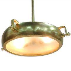 Large Galileo Ceiling Light - Gold Finish