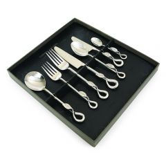 Leaf 84 Piece Cutlery Set - SAVE £60 - Handmade To Order