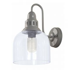 Whitechapel Wall Mounted Light - Dove Grey