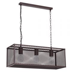 Triple Caged Hanging Light