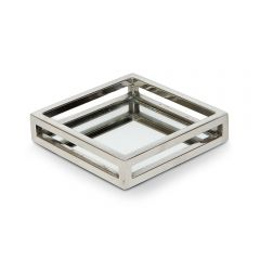 NEW! Mini Square Cut Out Mirror Tray - Pre-order - Due Mid November