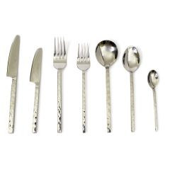 Millennium Hammered 84 Piece Cutlery Set - SAVE £60 - Handmade To Order
