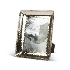 Medium Photo Frame - Champagne Hammered