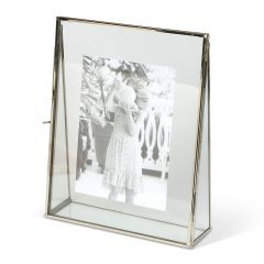 NEW! Large Moderne Glass Photo Frame