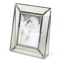 Medium Art Deco Glass Photo Frame