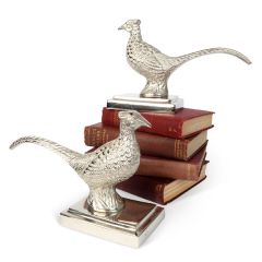 Large Pheasant Bookends