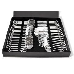 Polished Knot 42 Piece Cutlery Set
