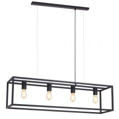 Prague Quadruple Rectangular Chandelier Frame