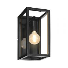 Prague Wall Lamp - Black Finish