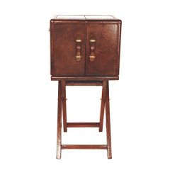NEW! Small Panama Bar Cabinet - Cognac