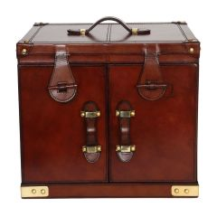 NEW! Panama Leather Drinks Hamper - Cognac – Pre-order – Due Mid June