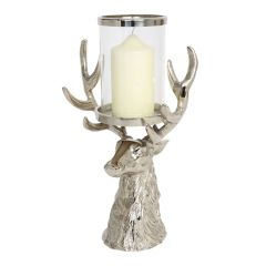 NEW! Stag Head Hurricane Lantern - Pre-order - Due Late July
