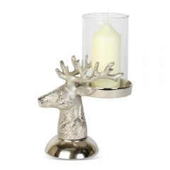 Medium Stag Head Candle Holder