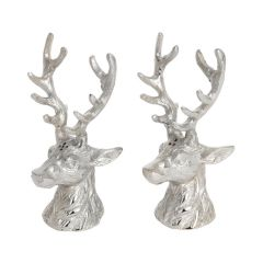 Stag Head Cruet Set