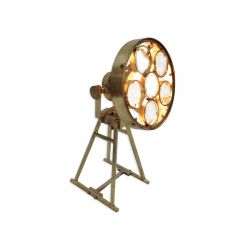 Galaxy Magnifying Table Lamp - Gold Finish