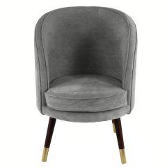Sloane Velvet Dark Grey Chair