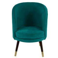 Sloane Velvet Jade Green Chair