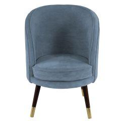 Sloane Velvet Sky Blue Chair
