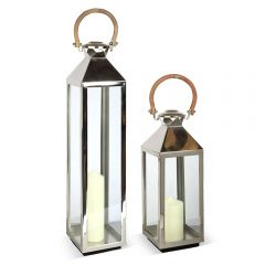 Medium & Small Tall Venetian Lantern Set