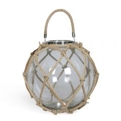 Glass Medium La Rochelle Globe Lantern
