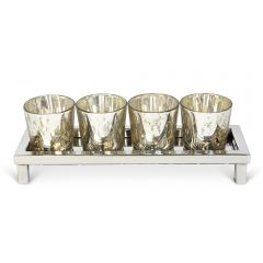 NEW! Tea Light Holder with Four Votives