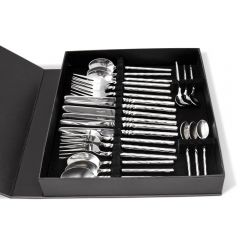 Twist Neck 24 Piece Cutlery Set - Handmade To Order